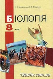 ГДЗ Біологія 8 клас Запорожець Влащенко 2008