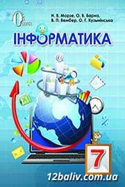 ГДЗ Інформатика 7 клас Морзе 2015 - Практичні роботи - Нова програма