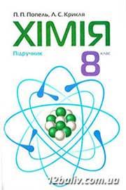 ГДЗ Хімія 8 клас Попель Крикля 2008 - практичні роботи, відповіді онлайн