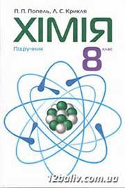 ГДЗ Хімія 8 клас Попель Крикля 2016 - відповіді, практичні роботи