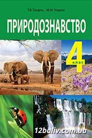 ГДЗ Природознавство 4 клас Гладюк 2015 - відповіді онлайн, нова програма